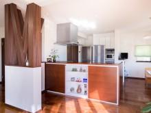 キッチンに立つのが日常の幸せに!!!こだわりのオーダー家具付きキッチンリフォーム